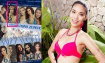 Lan Khuê được ưu ái chọn là Á hậu 1 tại Hoa hậu Thế giới 2015