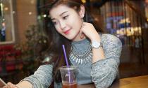 Bắt gặp Á hậu Huyền My lang thang cafe một mình