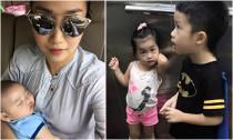 Ốc Thanh Vân khoe 3 nhóc tì cực đáng yêu
