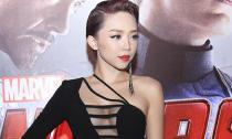 Tóc Tiên hở bạo đi ra mắt bộ phim 'Avengers: Đế chế Ultron'
