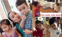 Clip con trai Ốc Thanh Vân thay mẹ dạy dỗ em siêu ngộ nghĩnh