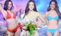 Thí sinh Hoa hậu Chuyển giới Thái Lan 2015 khoe thân hình mướt mắt
