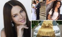 Hoa hậu Nga tặng... xe hơi cho bạn làm quà cưới