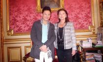 Nhà thiết kế Ngô Nhật Huy được đón chào nồng nhiệt tại Pháp