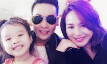 Vợ cũ Thành Trung hạnh phúc bên con gái và 'tình mới'