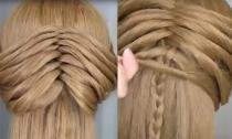Clip kiểu tóc tết cách điệu đẹp mắt thực hiện siêu đơn giản