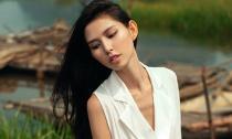Thùy Dương thả dáng đẹp 'mê hồn' giữa thiên nhiên thơ mộng