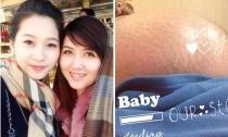 Giật mình với bụng rạn của chị gái Đặng Thu Thảo trong lần 'vượt cạn' sinh ba