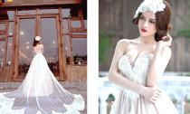 Ngắm BST cưới đẹp mê hoặc của NTK Amy Đào