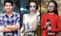 Những sao Việt 'già trước tuổi' trong showbiz
