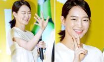 Shin Min Ah trẻ trung váy trắng tại sự kiện