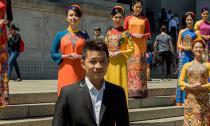 Áo dài NTK Thuận Việt gây ấn tượng trên đất Mỹ