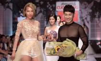 Minh Triệu diện váy cưới trào lưu mới của NTK Ngọc Long