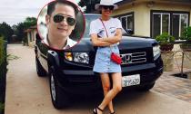 Bằng Kiều khoe khéo 'siêu' xe mới bên người yêu Hoa hậu