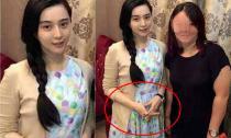 Phạm Băng Băng lấy tay che bụng càng dấy lên nghi án mang bầu