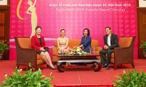 Hoa hậu hoàn vũ Việt Nam 2015 tổ chức buổi tọa đàm chủ đề 'Phụ nữ hiện đại trong mắt giới trẻ'