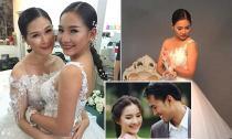 Vợ Duy Nhân bất ngờ làm người mẫu ảnh cưới