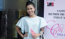 Diễn viên Thùy Trang háo hức casting phim mới