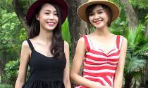 Cặp đôi chân dài nhà 'Bà trùm' Hạ Vy 'gây sốt' Mẫu và tài năng Việt