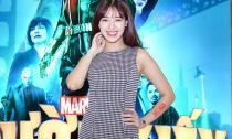 Hà Min 'mũm mĩm' đi ra mắt phim 'Người Kiến'