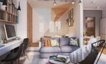 Nội thất đẹp của căn hộ có diện tích 40 m2