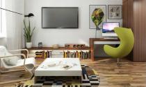 Bố trí nội thất hợp lý cho căn hộ nhỏ 43.5m²