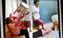 Con gái bắt mẹ ăn phân uống nước tiểu gây  phẫn nộ