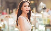 Hoa hậu Thùy Dung rạng rỡ trên đường phố Italy