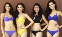 Hậu trường chụp ảnh áo tắm Hoa hậu Hoàn vũ Việt Nam 2015