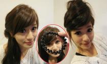 Biến hóa muôn kiểu tóc chỉ với một chiếc dây buộc