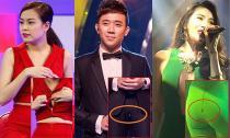 Tình huống 'bật áo, thủng quần' đình đám trên sân khấu của sao Việt