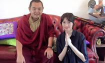 Thu Thảo được diện kiến ngài Nhiếp Chính Vương Gyalwa Dokhampa