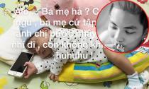 Phan Hiển lần đầu khoe ảnh cận mặt con trai hơn 1 tháng tuổi