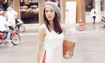 Diễn viên Anna Nguyễn diện street style 'rực rỡ' cho mùa mưa ở Sài Thành