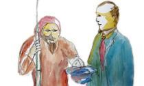 Câu chuyện giữa tỷ phú và lão ăn mày
