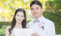 Đám cưới lãng mạn của 'hot girl trà sữa' và đại gia hơn 19 tuổi