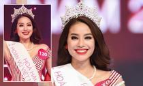 Phạm Hương đạt danh hiệu Hoa hậu Hoàn vũ Việt Nam 2015