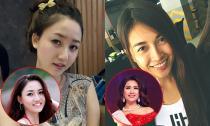 Ngắm loạt ảnh cũ đời thường của 2 Á hậu Hoàn vũ Việt Nam 2015
