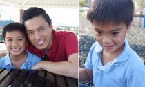 Con trai Lam Trường lớn nhanh và ngày càng khôi ngô