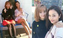 Minh Hằng và Jennifer Phạm 'đọ sắc' ở Hàn Quốc