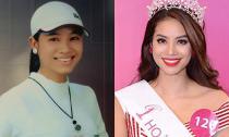 Lộ ảnh thời cấp 3 của Hoa hậu Hoàn vũ Phạm Hương
