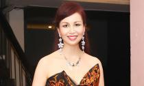 Hoa hậu Diệu Hoa xuất hiện lộng lẫy sau thời gian dài vắng bóng