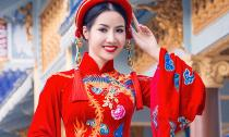 Á khôi Ngọc Vân dự thi Hoa hậu các quốc gia 2015