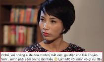MC Thùy Minh cám ơn những người đe dọa mình mất việc