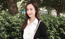 'Hotgirl trà sữa Việt' xinh đẹp khiến fans Trung mê mẩn