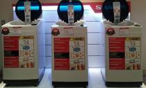Sharp Việt Nam giới thiệu bộ sưu tập máy giặt 2016 lồng giặt không lỗ - giặt giũ không lo