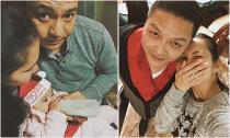 Kim Hiền lần đầu đón Giáng sinh cùng gia đình nhà chồng