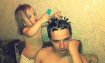 Loạt ảnh hài hước về cha và con gái