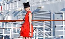 Cô gái Việt sẽ biến con tàu khổng lồ Úc thành sàn diễn ấn tượng nhất