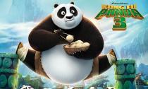 Gấu trúc Po gặp cô nàng vũ công múa lụa Mei Mei trong 'Kungfu Panda 3'